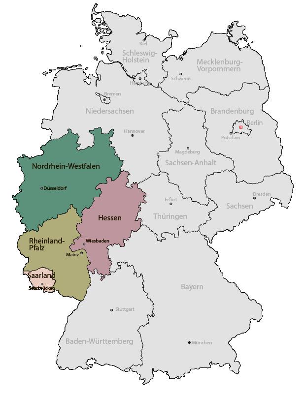 Vertriebdienstleister für Westdeutschland